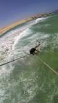 Strapless grab at glas beach