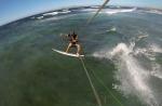 jumping at Maja